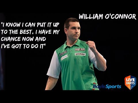 """William O'Connor: """"I know I can put it up to the best, I have my chance now and I've got to do it"""""""