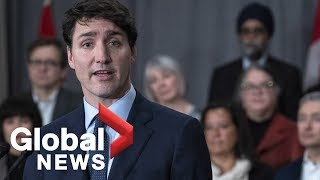 Justin Trudeau speaks about Canadians detained in China, missing Canadian in Burkina Faso