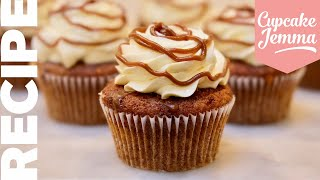 My NEW FAVOURITE CUPCAKES! | Sticky Toffee Pudding and Custard Cupcake Recipe | Cupcake Jemma