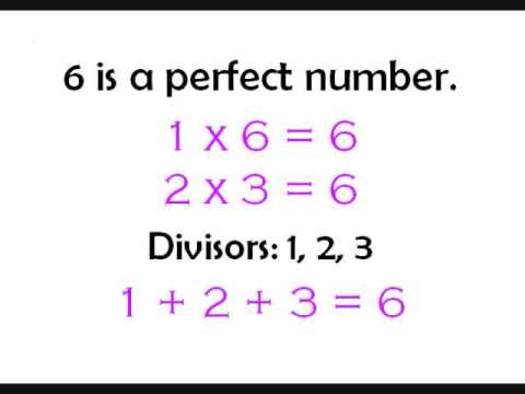 how to find perfect number
