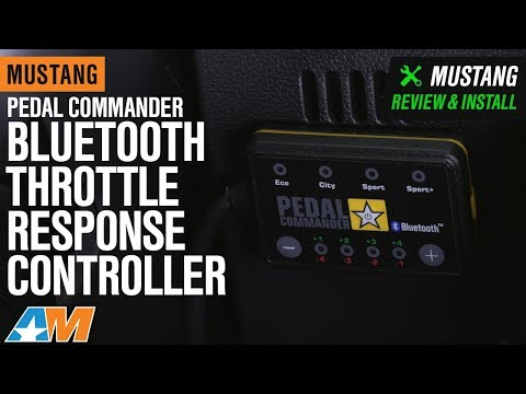 2011-2018 Mustang Pedal Commander Bluetooth Throttle Response Controller Review & Install