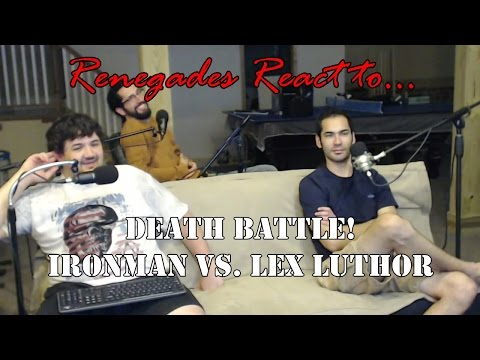 Renegades React to... Death Battle! Ironman vs. Lex Luthor