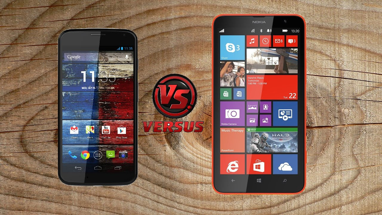 Винфон 8.1 против андроид
