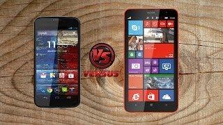 Android 4.4.2 VS WindowsPhone 8.1