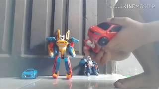 Bermain Tobot Tritan, Tobot H, Tobot Y dan Z #Tobot