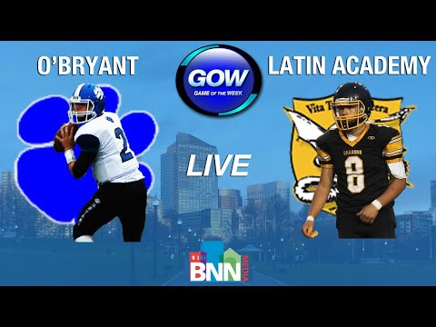 Game of the Week: O'Bryant Tigers vs. Latin Academy Dragons (Football)