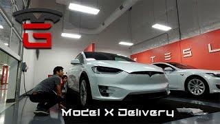 Tesla Model X Delivery