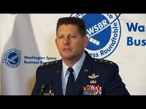 Air Force Space Command's man in Washington makes debut