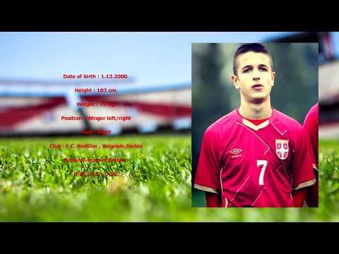 BOSIC RADIVOJ, Football player from Serbia.
