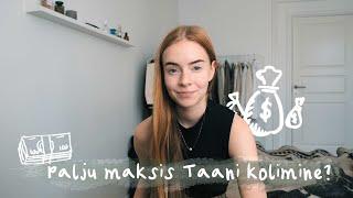 Kui palju maksis Taani kolimine? 💵  Kui palju raha mul peale esimest kuud alles on?