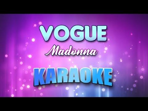 Madonna - Vogue (Karaoke & Lyrics)