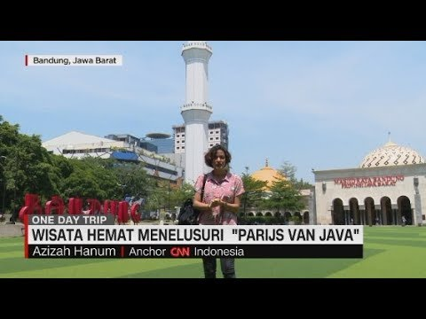 Serunya Jelajahi Kota Bandung Dalam Sehari