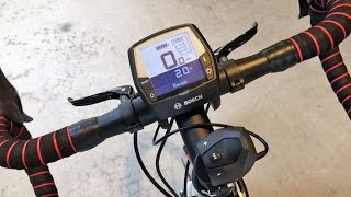 Bosch Intuvia Instructions Manual Video - Electric Bike Computer Display System