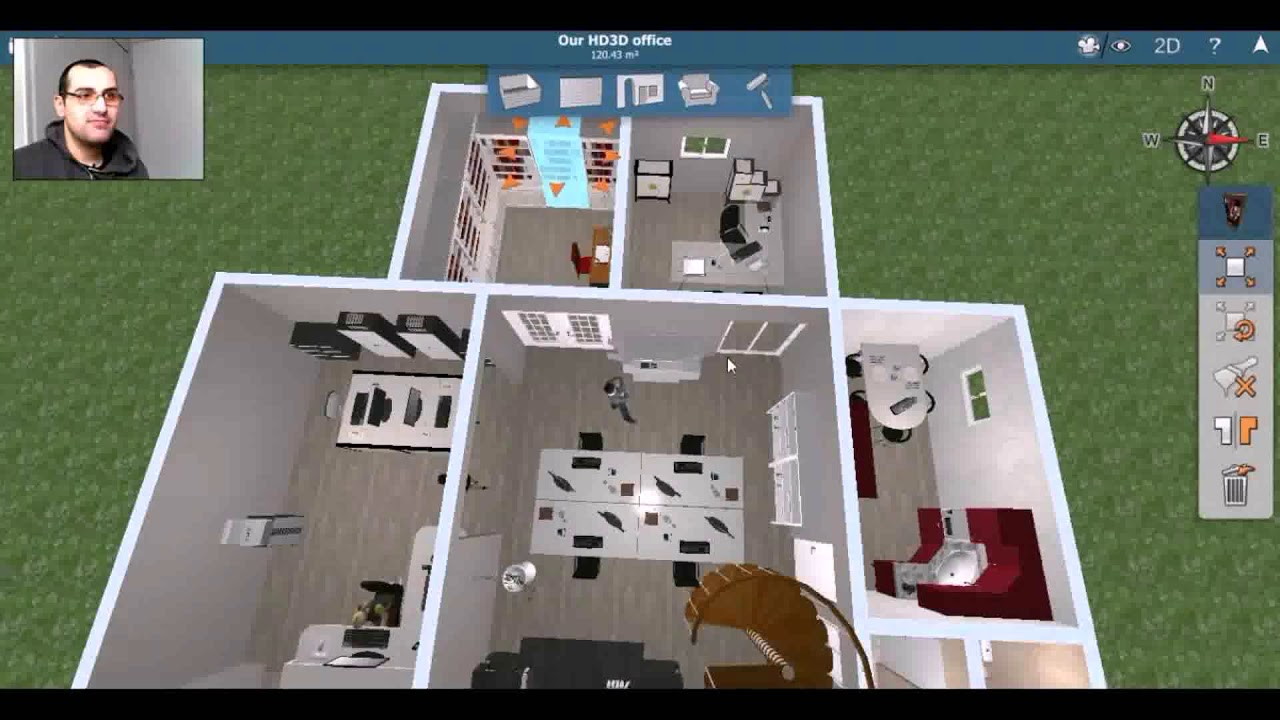 Home Design 3d Android App Download - YouTube