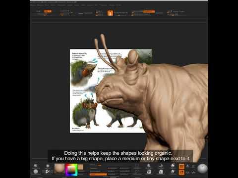 Sculpting The Radiant Swamp Pig |