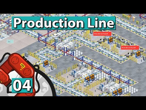 PRODUCTION LINE | Hohe Fertigungstiefe ► #4 Der AUTO FABRIK SIMULATOR deutsch german