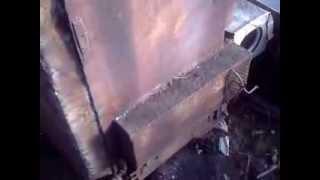переделка шахтного котла в пиролизный котел(Пиролизный котел своими руками из металоллома =) Пиролизный котел с воздушным теплообменником Фотографии..., 2013-10-25T18:35:25.000Z)
