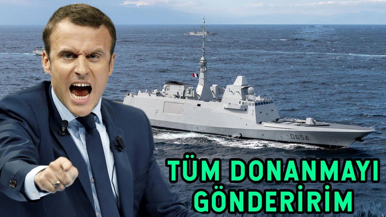 Macron'dan Küstah Tehdit! Savaş Açacakmış