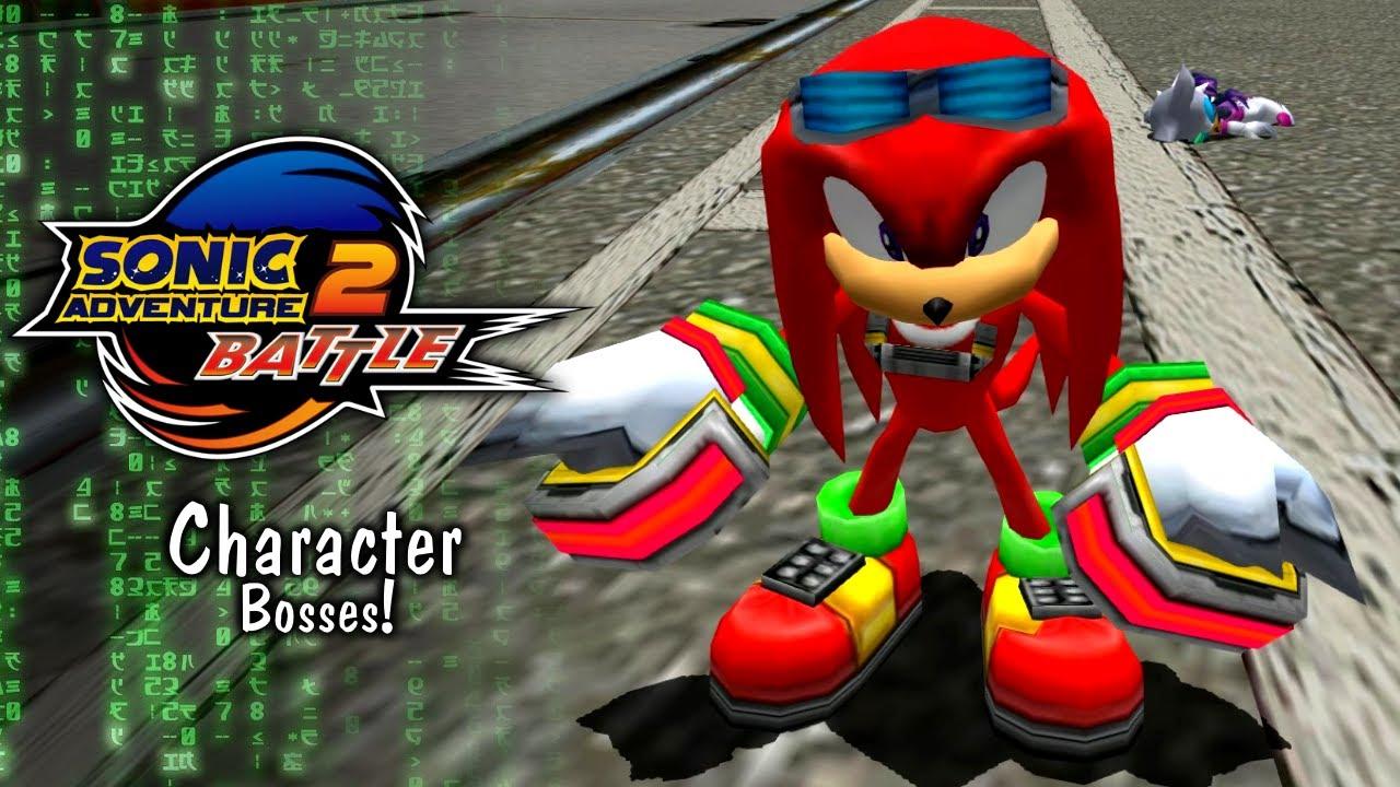 Sonic Adventure 2 Battle: Character Bosses!