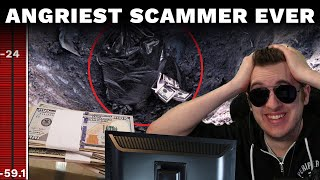 The Angriest Scammer I've Ever Called