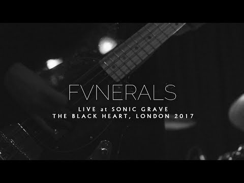 FVNERALS - Live at Sonic Grave, (Wounds + Shiver) 2017