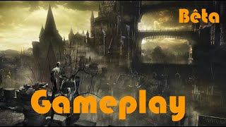 Dark Souls 3 Beta stress test PS4 FR HD gameplay avec boss vaincu - Dancer of the Frigid Valley