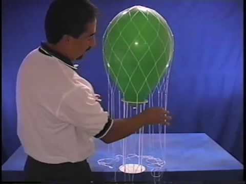 Assembly instructions youtube for Balloon nets for centerpieces