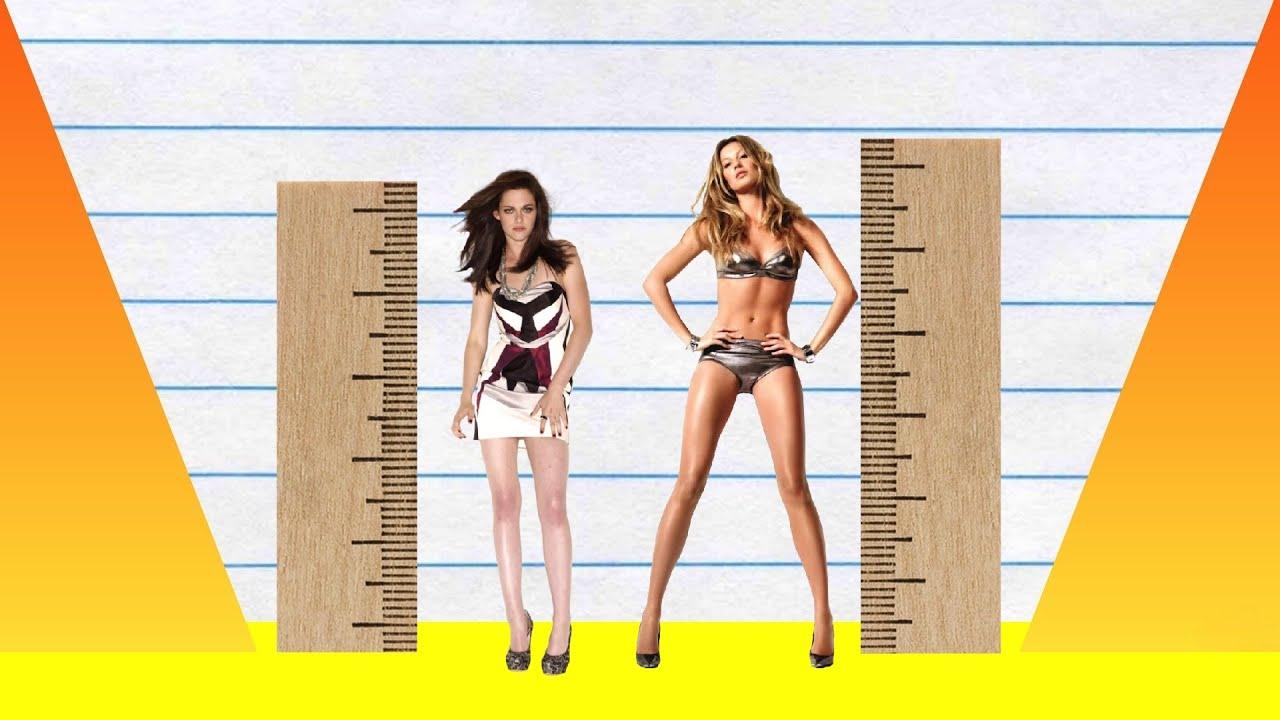 91f3f4b0603 How Much Taller? - Kristen Stewart vs Gisele Bundchen! - YouTube