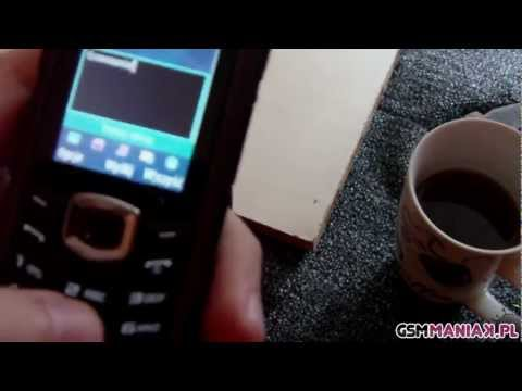 Wideo test i recenzja telefonu Samsung B2710 Solid | techManiaK.pl