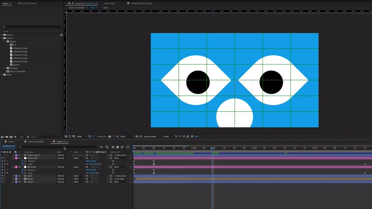 Motion graphics design process: How to make the final animation