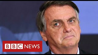 """Brazil's President """"should be charged with crimes against humanity"""" over Covid deaths - BBC News"""