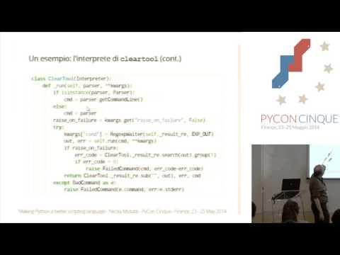 Image from Rendere Python un linguaggio di scripting migliore