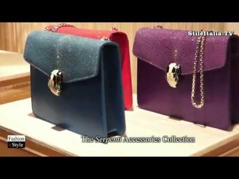 """Italian Fashion"" - ""Bulgari"" - ""2015 Fall Winter""  Accessories, Bags & Jewelry"