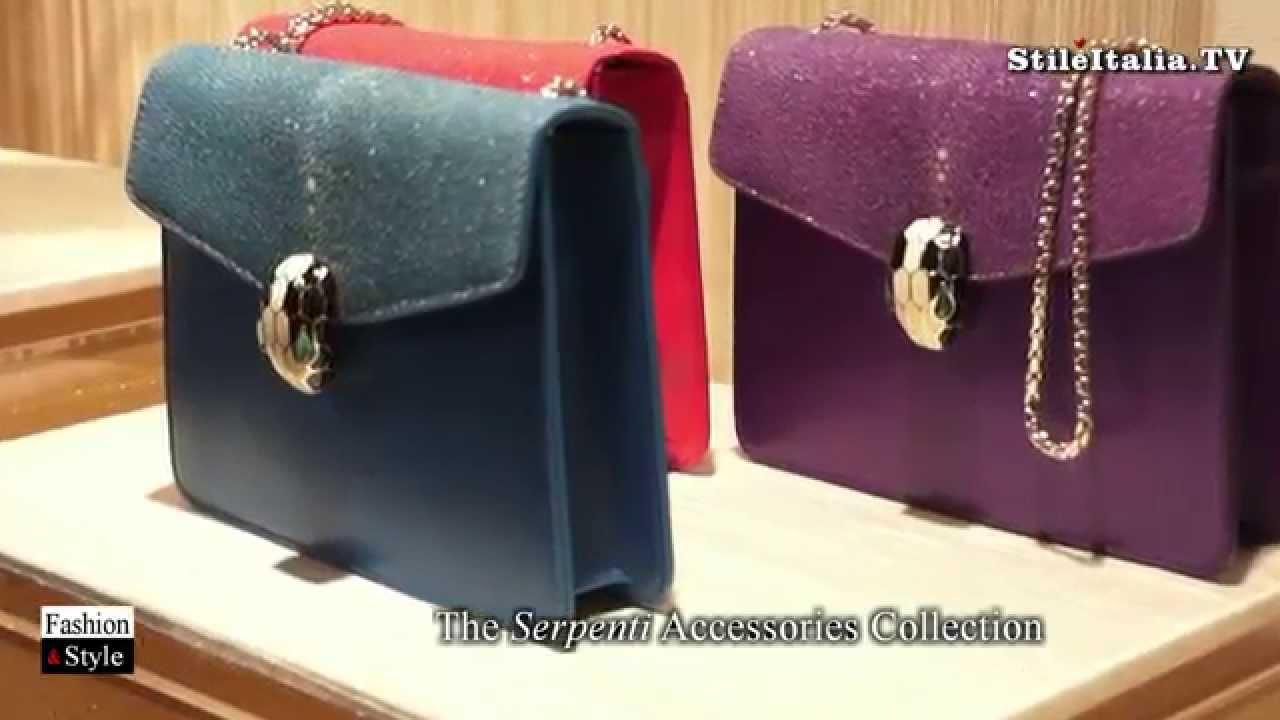 Italian Fashion Bulgari 2017 Fall Winter Accessories Bags Jewelry You