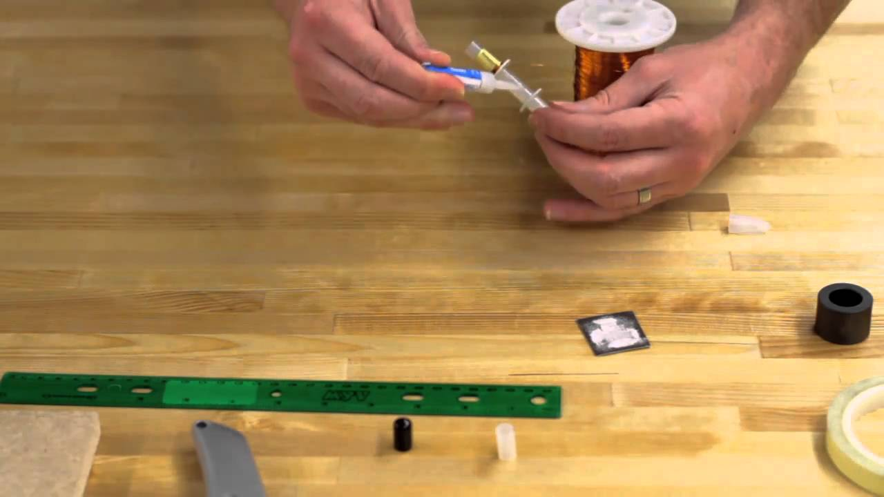 How to make a homemade solenoid