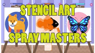 Stencil Art   Spray Masters - Gameplay