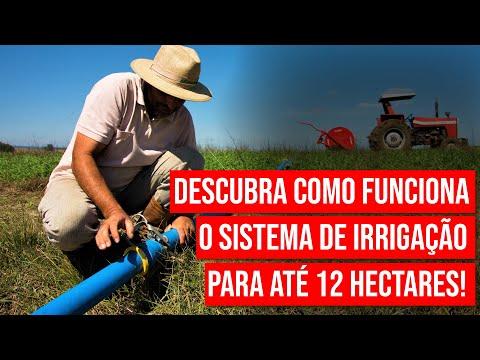 IRRIGAT irrigação para até 12 hectares
