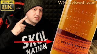 Whisky Brasil 111: Bulleit Bourbon Review - Bourbon Whiskey Novo [8K]