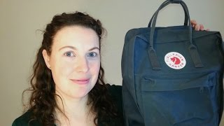 Pack with Me ~ Part 1 ~ Carry On Backpack ~ Fjallraven Kanken Maxi
