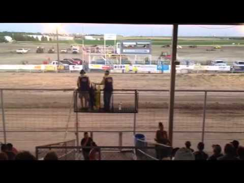 Thomas County Speedway-July 21, 2013-Sport Mod Feature