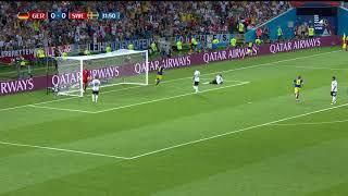 ¡GOLAZO DE SUECIA! | Alemania vs Suecia