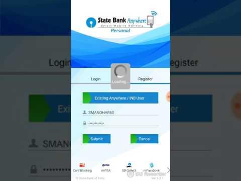 State Bank Freedom Mobile Banking Login Problem Solved(in Telugu)