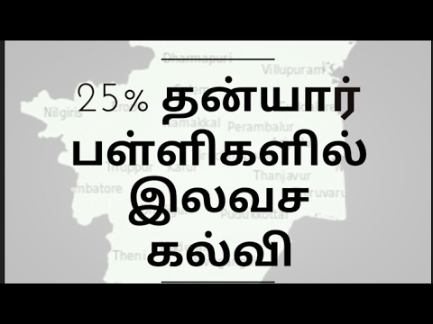 25% free education in private school by RTE act 2009