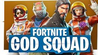 Fortnite God Squad - ImMarksman, IAMWILDCAT, Gorillaphent & Ohmwrecker