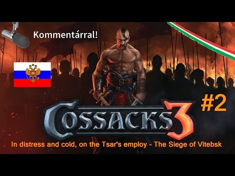 In distress and cold, on the Tsar's employ #2 - The Siege of Vitebsk végigjátszás