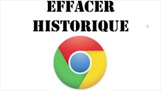 Historique de navigation Chrome | effacer l'historique du navigateur chrome