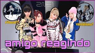AMIGO REAGINDO A 2NE1 (I AM THE BEST)