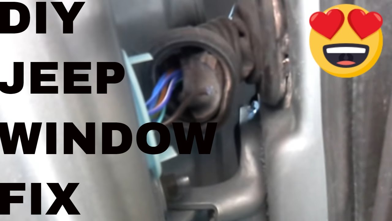 jeep grand cherokee power window switch stop working repair [ 1280 x 720 Pixel ]