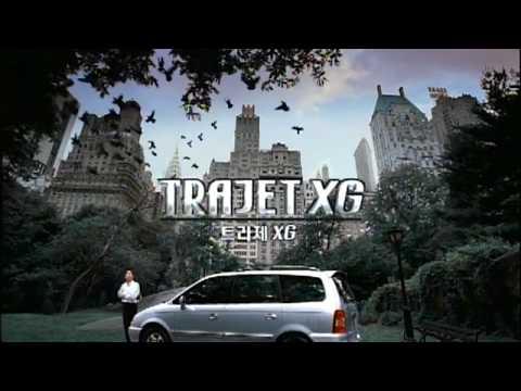 Hyundai Trajet XG 2000 Commercial (korea)