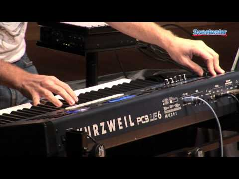 Kurzweil PC3LE6 Keyboard Demo by Ill Factor - Sweetwater Sound